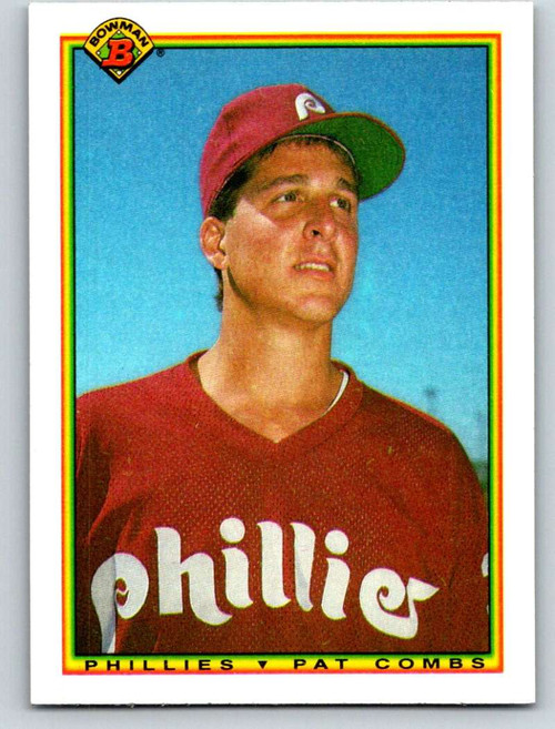 1990 Bowman #148 Pat Combs VG Philadelphia Phillies