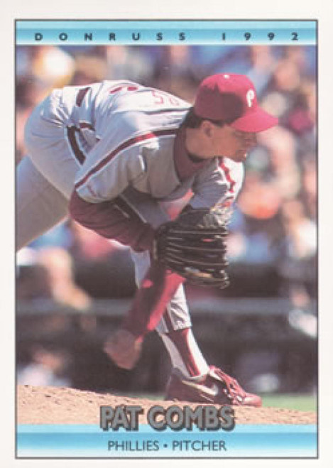 1992 Donruss #76 Pat Combs VG Philadelphia Phillies