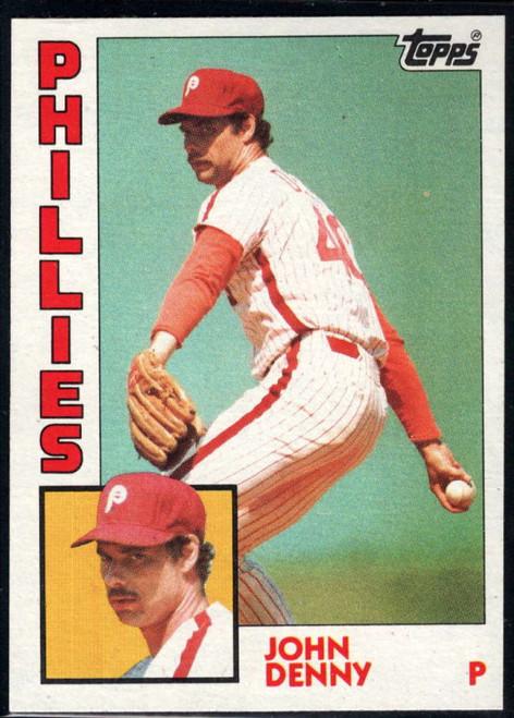 1984 Topps #17 John Denny VG Philadelphia Phillies