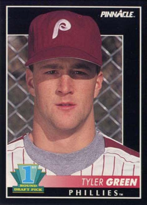 1992 Pinnacle #303 Tyler Green VG RC Rookie Philadelphia Phillies
