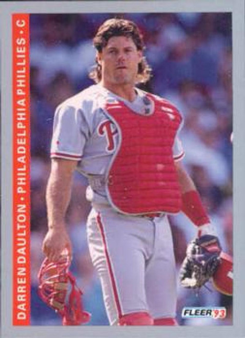 1993 Fleer #100 Darren Daulton VG Philadelphia Phillies