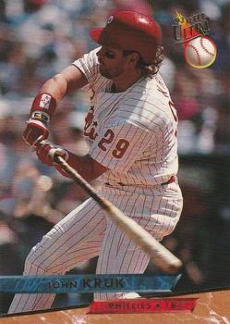 1993 Ultra #90 John Kruk VG Philadelphia Phillies