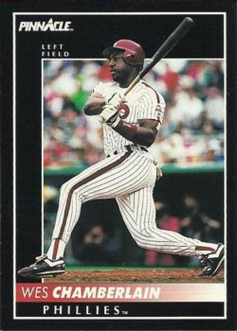 1992 Pinnacle #36 Wes Chamberlain VG Philadelphia Phillies