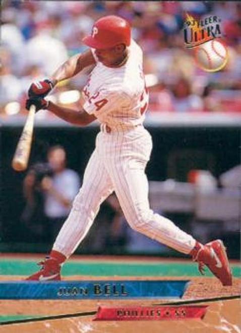 1993 Ultra #84 Juan Bell VG Philadelphia Phillies