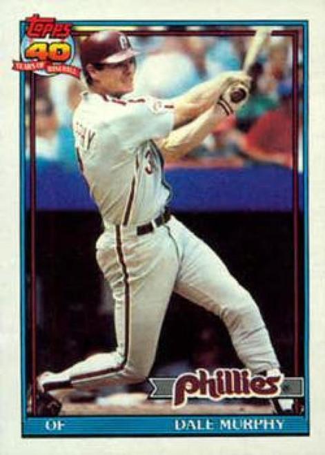 1991 Topps #545 Dale Murphy VG Philadelphia Phillies