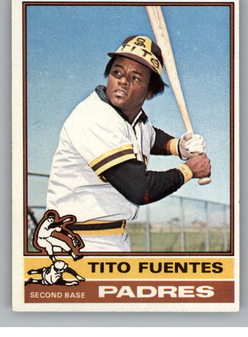 1976 Topps #8 Tito Fuentes VG San Diego Padres