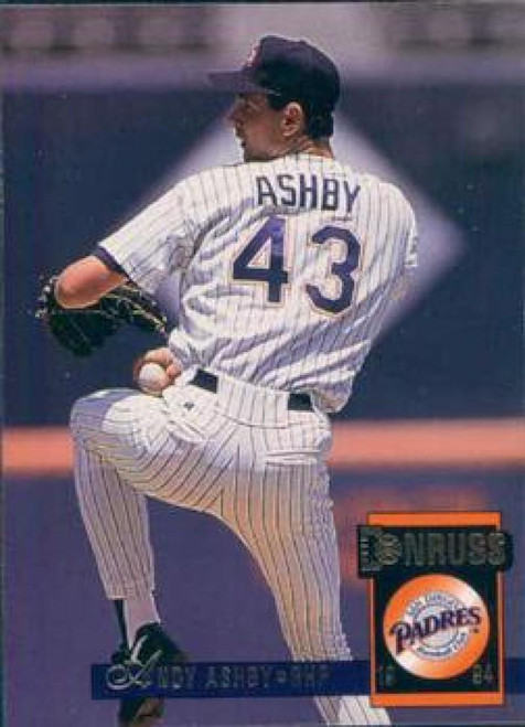 1994 Donruss #70 Andy Ashby VG San Diego Padres