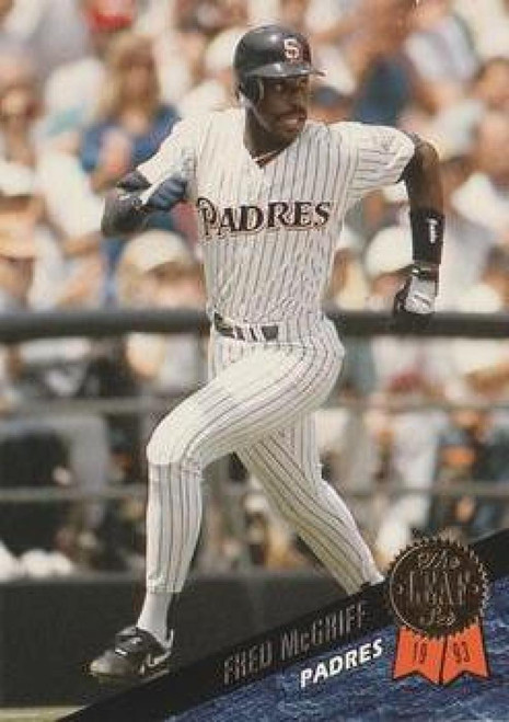 1993 Leaf #46 Fred McGriff VG San Diego Padres