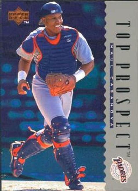 1995 Upper Deck #11 Raul Casanova VG RC Rookie San Diego Padres