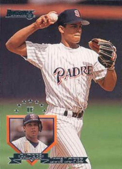 1995 Donruss #4 Luis Lopez VG San Diego Padres