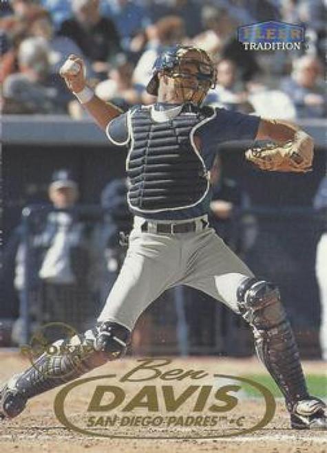 1998 Fleer Update #U22 Ben Davis VG San Diego Padres