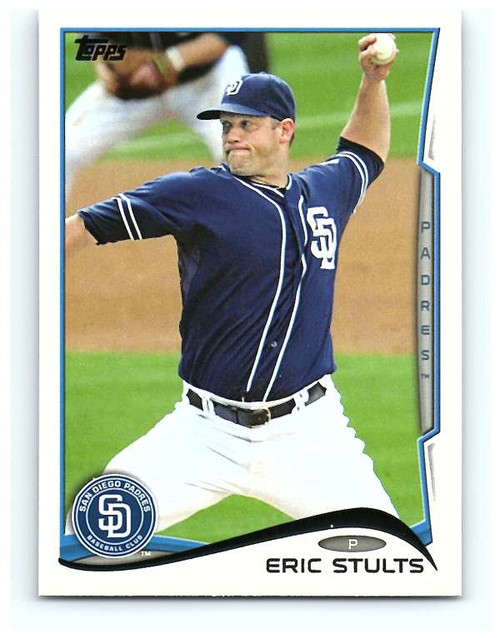 2014 Topps #234 Eric Stults NM-MT  San Diego Padres