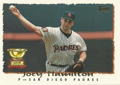 1995 Topps #54 Joey Hamilton VG  San Diego Padres