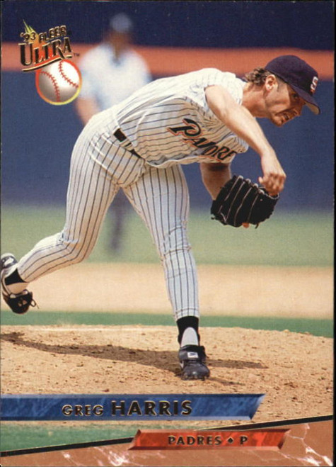 1993 Ultra #117 Greg Harris VG San Diego Padres