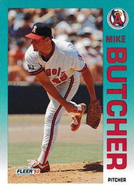 1992 Fleer Update #7 Mike Butcher NM-MT  RC Rookie California Angels