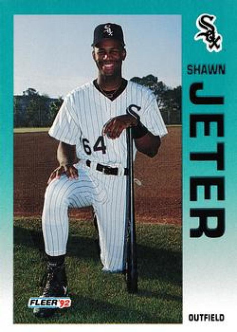1992 Fleer Update #14 Shawn Jeter NM-MT  RC Rookie Chicago White Sox