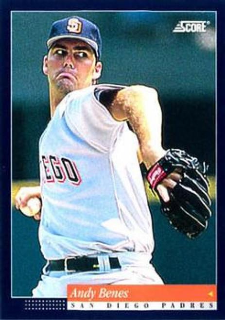 1994 Score #44 Andy Benes VG San Diego Padres