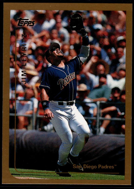 1999 Topps #5 Jim Leyritz VG San Diego Padres