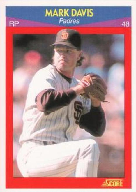 1990 Score 100 Superstars #51 Mark Davis VG San Diego Padres