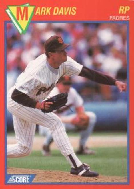 1989 Score Baseball's 100 Hottest Players #62 Mark Davis NM-MT San Diego Padres