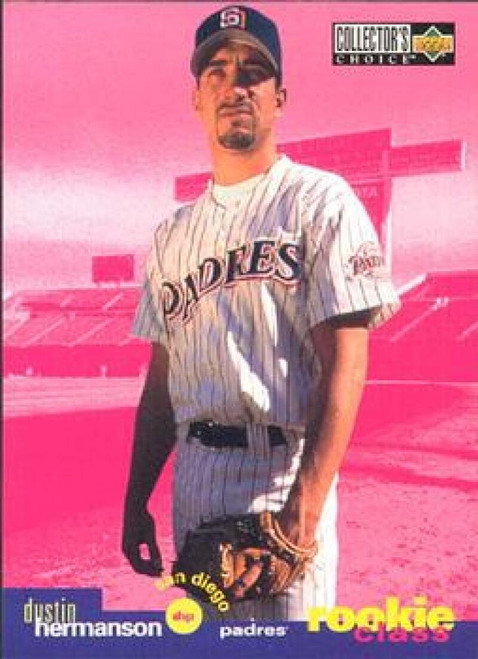 1995 Collector's Choice #25 Dustin Hermanson VG San Diego Padres