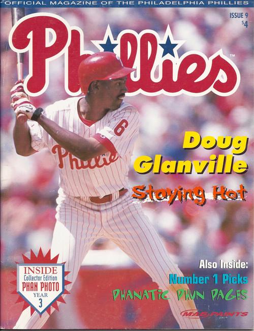 Doug Glanville 1998 Philadelphia Phillies Magazine Program