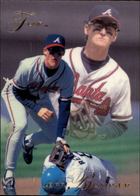 1993 Flair #2 Jeff Blauser NM-MT Atlanta Braves