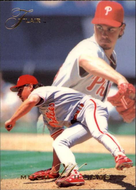1993 Flair #108 Mitch Williams NM-MT Philadelphia Phillies