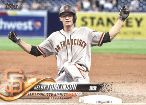 2018 Topps #380 Kelby Tomlinson NM-MT San Francisco Giants