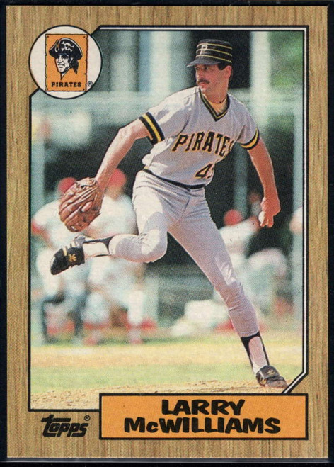 1987 Topps #564 Larry McWilliams NM-MT Pittsburgh Pirates