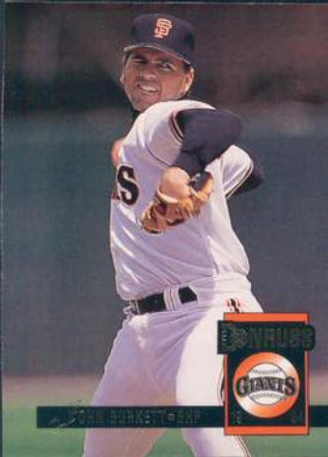 1994 Donruss #13 John Burkett VG San Francisco Giants