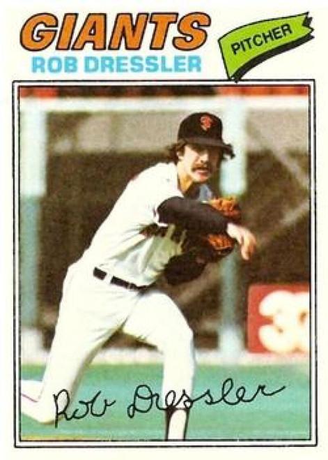 1977 Topps #11 Rob Dressler VG San Francisco Giants