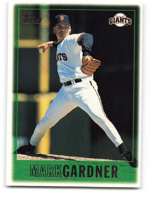 1997 Topps #52 Mark Gardner VG  San Francisco Giants