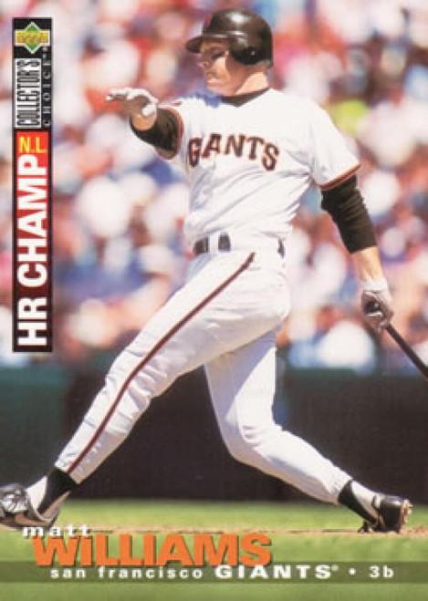 1995 Collector's Choice #71 Matt Williams VG San Francisco Giants