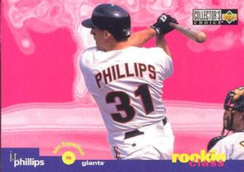 1995 Collector's Choice #27 J.R. Phillips VG San Francisco Giants