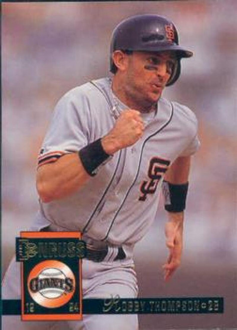 1994 Donruss #48 Robby Thompson VG San Francisco Giants