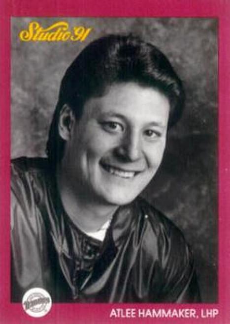 1991 Studio #246 Atlee Hammaker NM-MT  San Diego Padres
