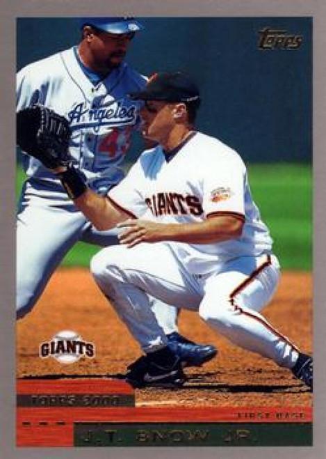 2000 Topps #35 J.T. Snow VG San Francisco Giants