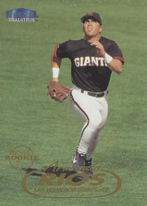 1998 Fleer Update #U31 Armando Rios VG RC Rookie San Francisco Giants