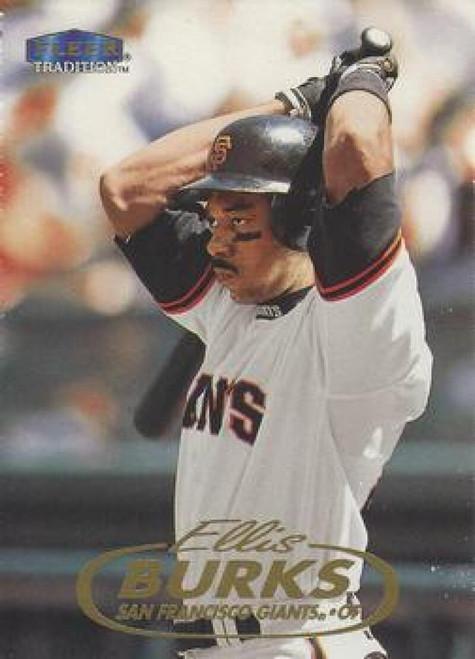 1998 Fleer Update #U38 Ellis Burks VG San Francisco Giants