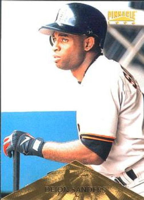 1996 Pinnacle #25 Deion Sanders VG San Francisco Giants