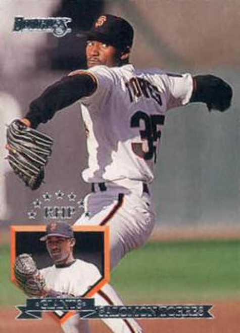 1995 Donruss #30 Salomon Torres VG San Francisco Giants