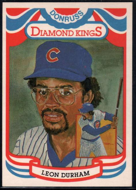 SOLD 33247 1984 Donruss #5 Leon Durham DK COR VG Chicago Cubs