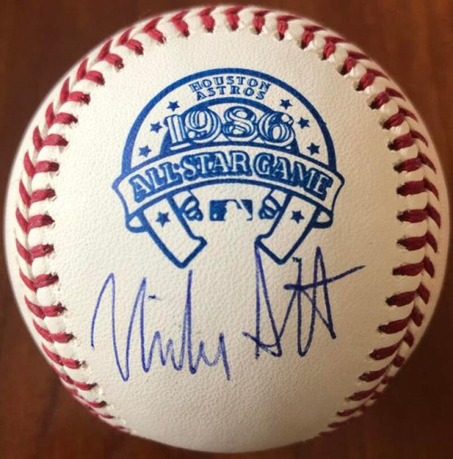 Mike Scott Autographed 1986 All-Star Game Baseball