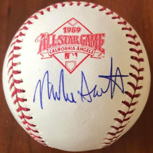 Mike Scott Autographed 1989 All-Star Game Baseball