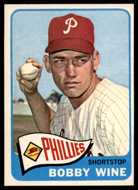 1965 Topps #36 Bobby Wine VG  Philadelphia Phillies