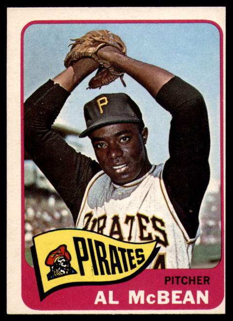 1965 Topps #25 Al McBean VG  Pittsburgh Pirates