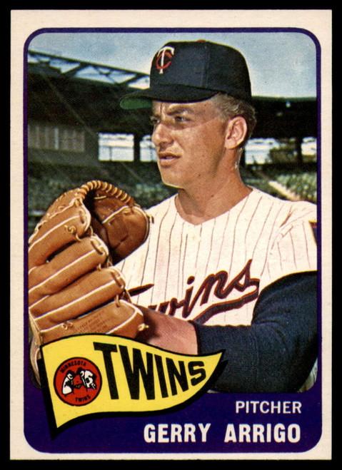 1965 Topps #39 Gerry Arrigo VG  Minnesota Twins