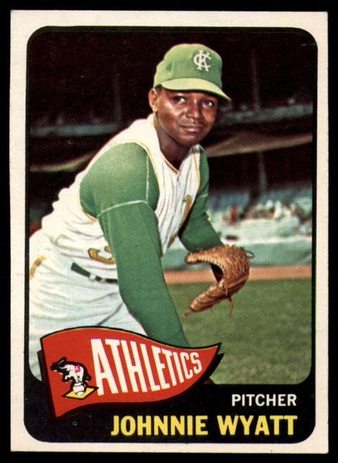 1965 Topps #590 John Wyatt VG  Kansas City Athletics
