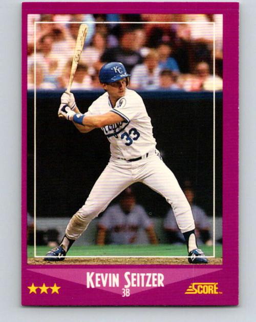 1988 Score #6 Kevin Seitzer VG Kansas City Royals